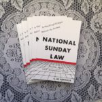 Sunday Law Book Update – over 100,000 Sent to 11 Different States
